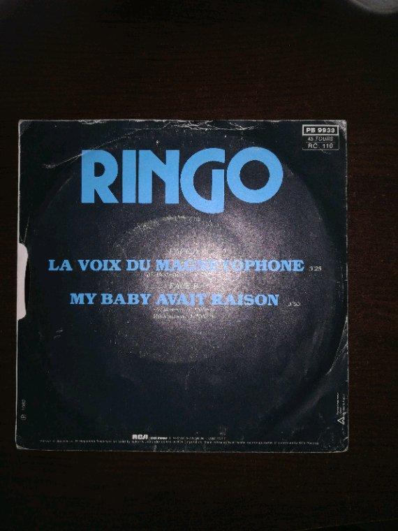 """Regardez """"Ringo La Voix Du Magnétophone 1982 (version 45 tours)"""" sur YouTube"""