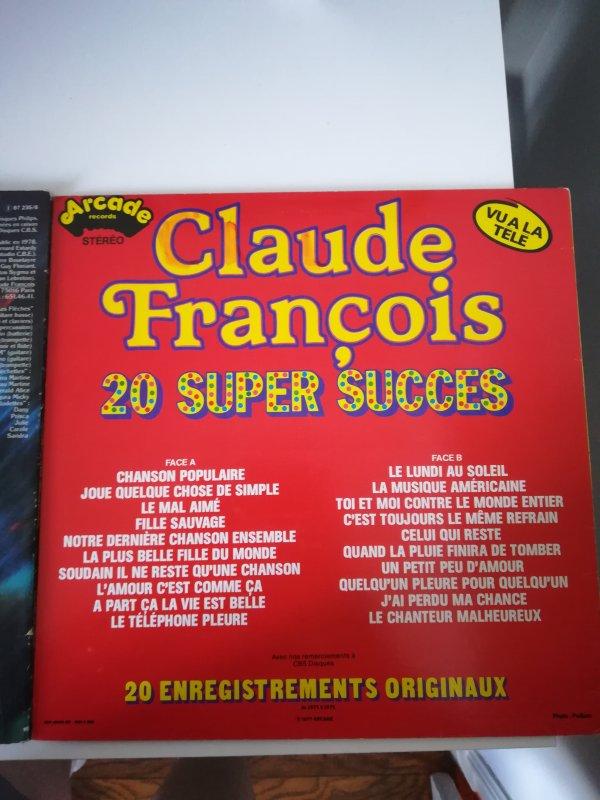 Claude François trouvait du 1er Septembre sue plusieurs brocante
