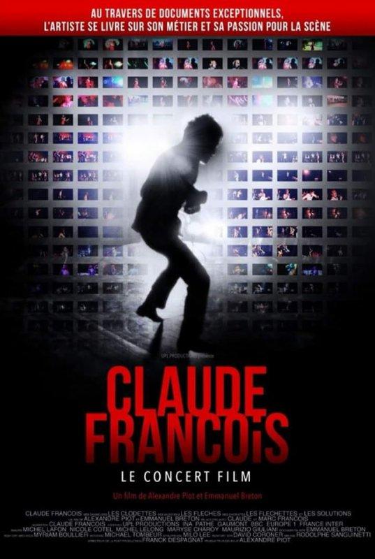 Claude François, le concert film exploitation en salles prévue en 2020