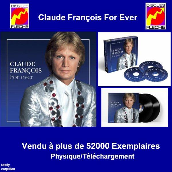Claude François For Ever (Vendu A Plus De 52000 Exemplaires)