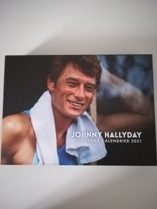 Johnny Hallyday Cd, Cassette audio et Calendrier 2021