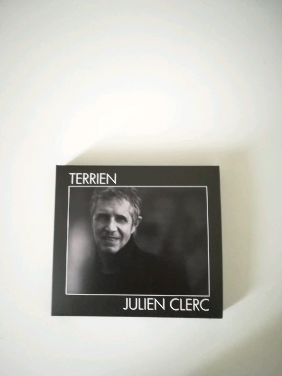 Julien Clerc Terrien Nouvel Édition Collector 2 CD