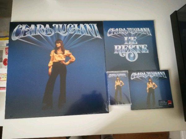 """Clara Luciani """"C½ur"""" Vinyle, K7 et CD"""