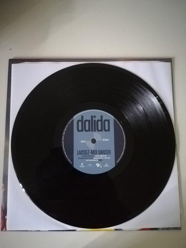 Dalida Laissez-Moi Dansez Vinyle 25 CM sortie 2021