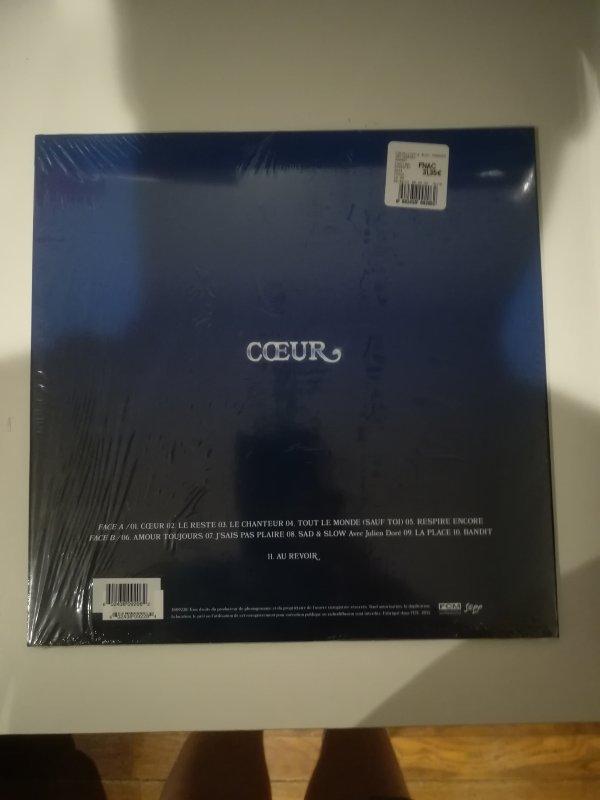 Clara Luciani C½ur Fnac Édition Spéciale Vinyle Bleu Transparent 24.99¤