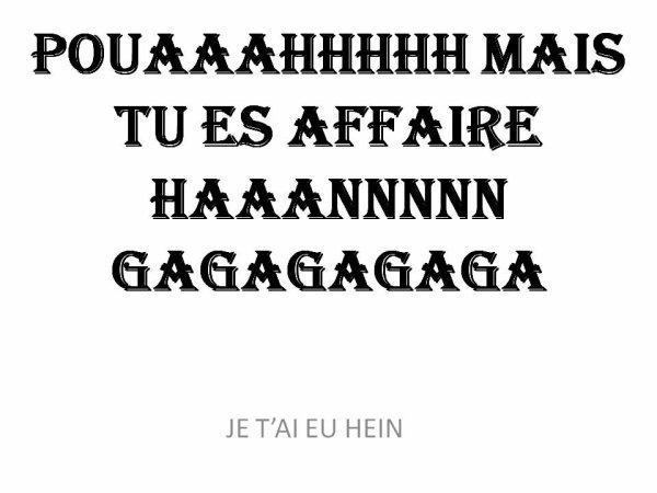 """HA LES FEMMES!!!!....HA LES HOMMES!!! UNE HISTOIRE DE """"SEXE"""" DIVISE LE GROUPE"""