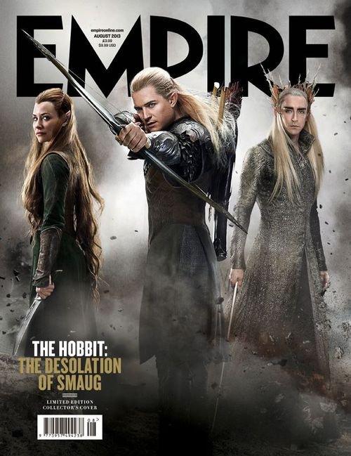 Lilly Evangeline,Orlando Bloom et Lee Pace pour le magazine Empire de Aout 2013...