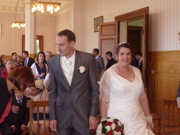 QUELQUES PHOTOS DU MARIAGE DE MON FILS LE 6 JUIN 2015