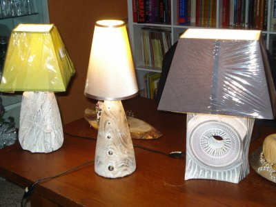 DERNIERES CREATIONS LAMPES
