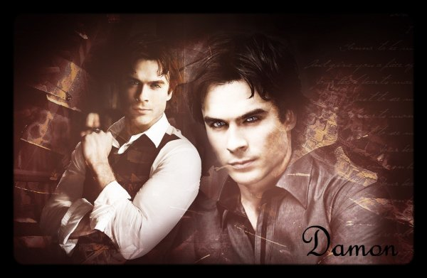 Damon Salvatore / Ian Somerhalder