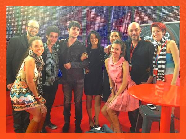 Le  07 Avril 2012 : Le Premier Show Live