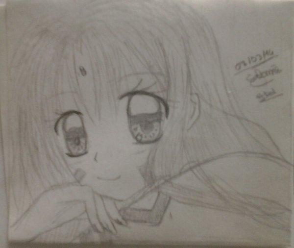 Princesse Sakura en dessins ! Part. 1 .