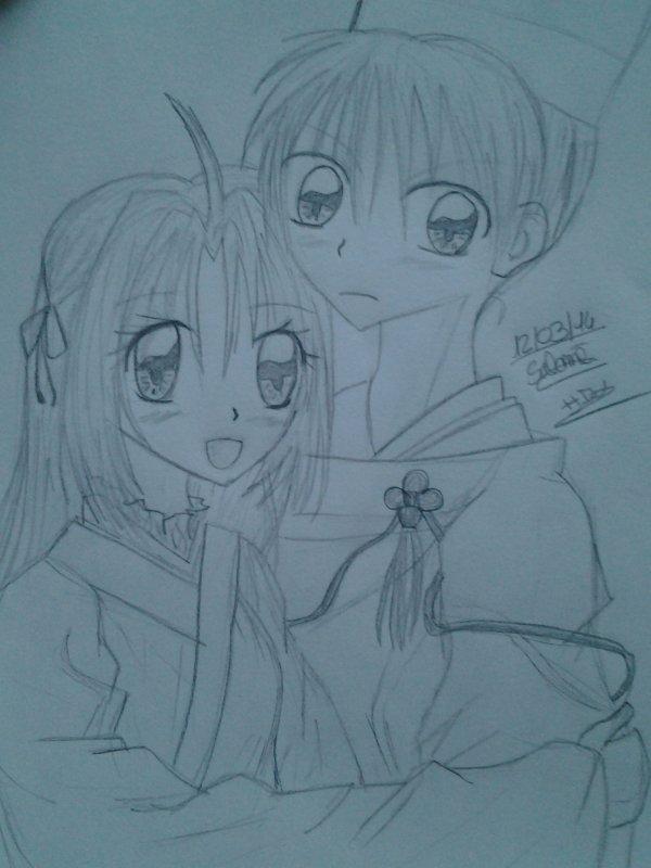Princesse Sakura en dessins ! Part. 3.