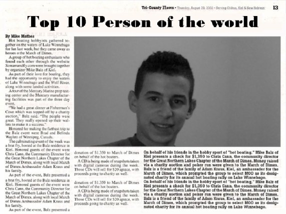 ToP 10 PersoN OF THE WORD