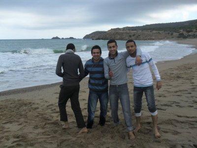 moi et mes amis à madagh!!!