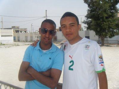 Moi et mon pote Houssem!!
