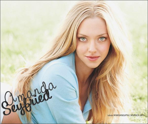. . Ta Nouvelle Source sur Amanda Seyfried ◊ WWW.AMANDASEYFRIE.SKYROCK.COM . .