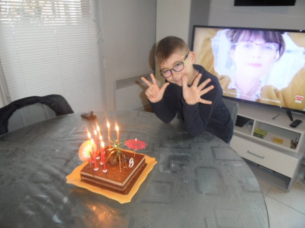 Les 8 ans de Stevan