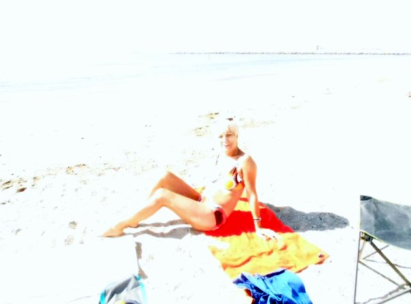 journée à la mer ....dommage photo raté ....