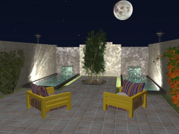 Pour la terrasse