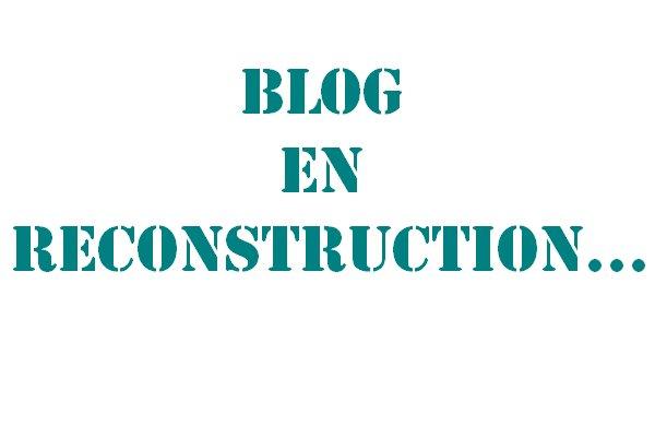 Blog en reconstruction....