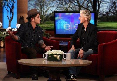 Bruno au Ellen show