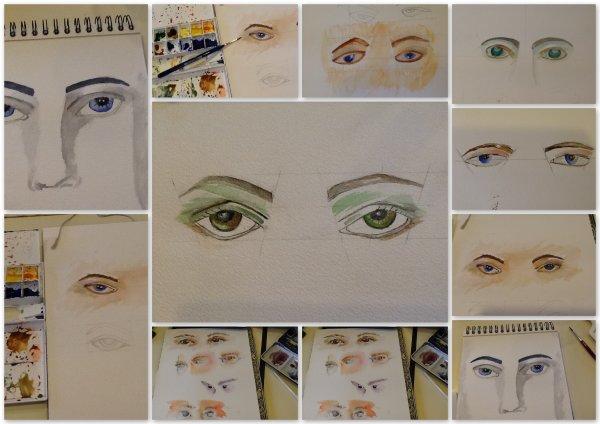 Dans le bleu de tes yeux .... il y a