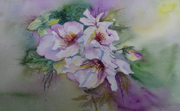 Des fleurs réalisation du cours