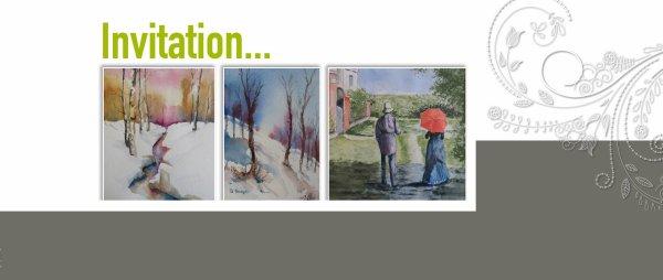 Exposition Salon des Artistes du Groupe Animation Lottert à B-6600 Bastogne -Remoifosse N4