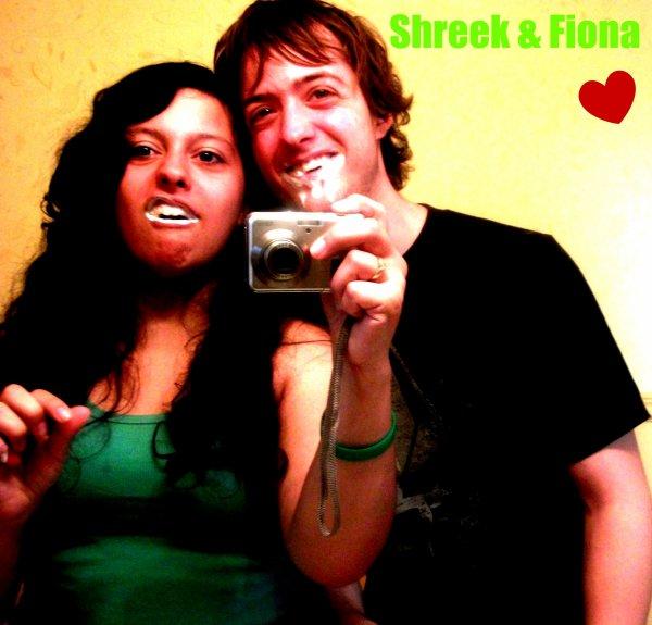 Shrek et Fiona xD nous <3