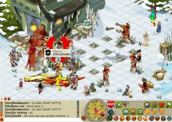 Notre premier combat Goultaminator 2012 !