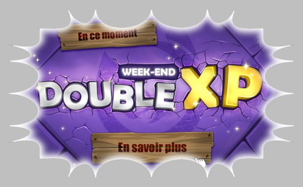 Week-end double xp, ça farm !