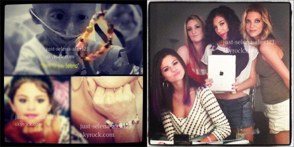 4 nouvelles photos instagram de notre Selena
