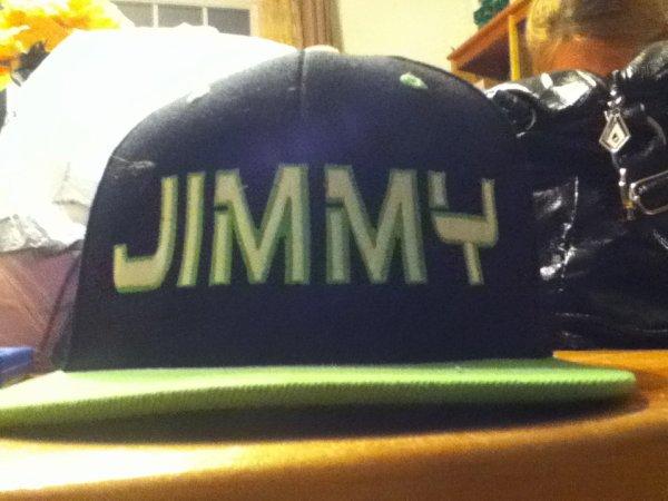 ma casquette que ma soeur ma acheter a noel.