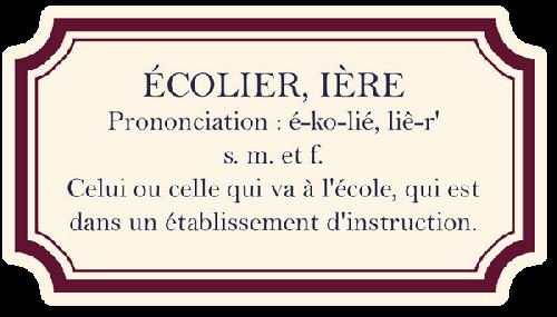 LA RENTRÉE SCOLAIRE ~~ Etape No6 ~~ C'est la RENTRÉE ~~ Primaire 02