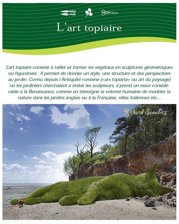 ~~~~ (^v^) ~~ POUR LES AMI(E)S des CHATS ~~ (^v^) ~~ PAUSE DOUCEUR ~~ (^v^) ~~~~ ~~~~ AMIS JARDINIERS ~~~ L'ART TOPIAIRE = ART PAYSAGISTE ~~~~