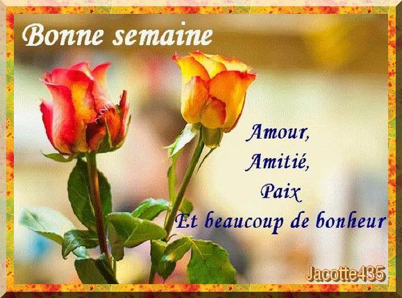 (^v^)~~ BONNE SEMAINE ~~ BONNE NUIT ~~ A DEMAIN ~~ AMITIÉ ~~ AUTOMNE ~~(^v^) ~~(^v^)~~ ROSE JAUNE ~~ TOUR EIFFEL ~~ BONJOUR ~~(^v^)~~