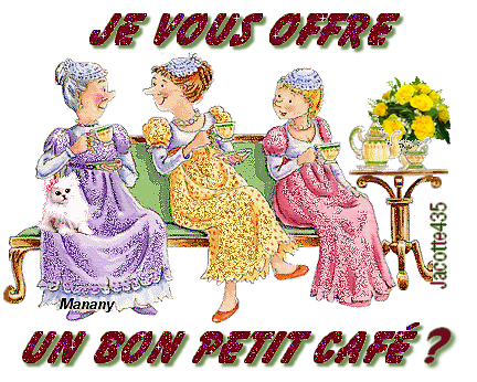 (^v^) OUPS (^v^) J'AVAIS OUBLIÉ UN GATEAU ... la FORÊT NOIRE (^v^) et LE CAFÉ (^v^)