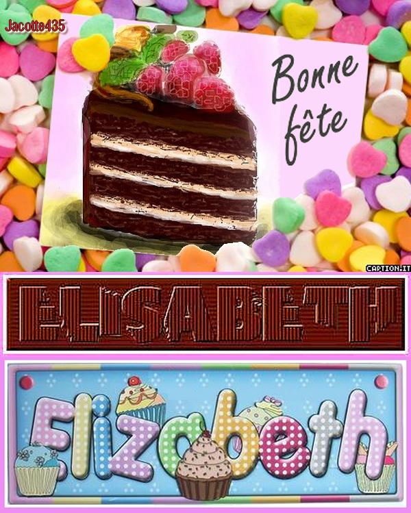~♥~(^v^)~♥~ VENDREDI 17 NOVEMBRE ~♥~ BONNE FÊTE ~♥~ ÉLISABETH ~♥~(^v^)~♥~