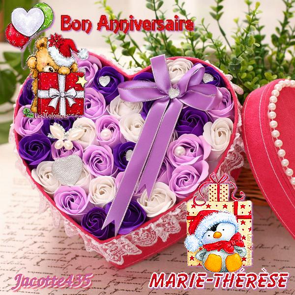 ♥♫♥ 08 DÉCEMBRE ♥♫♥ BON ANNIVERSAIRE ♥♫♥ MARIE-THÉRÈSE ♥♫♥ http://capucine55500.skyrock.com/