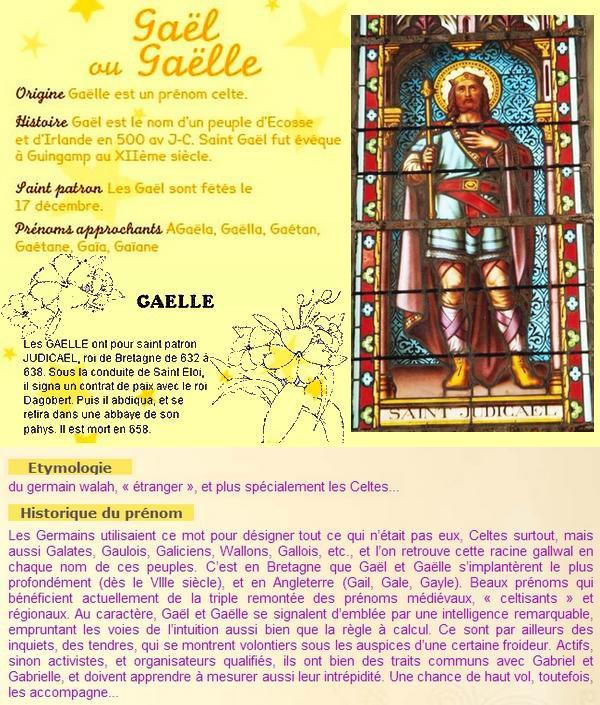 ~♥~(☼♥☼)~♥~ 17 DÉCEMBRE (☼♥☼)~♥~ CALENDRIER DE L'AVENT ~♥~ J - 08 ~♥~(☼♥☼)~♥~ ~♥~(^v^) SAINT GAËL (^v^)~♥~