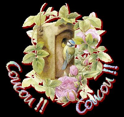 ♥♫♥ (☼♥☼) MERCI CLAIRE ♥♫♥ (☼♥☼) JOLI MESSAGE MUSICAL de MÉSANGE (☼♥☼) ♥♫♥