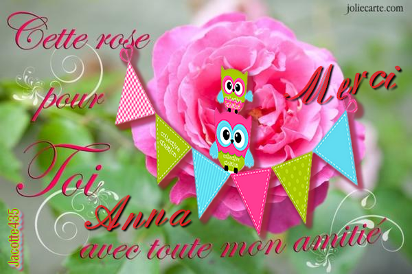 ~~(☼♥☼)~ CHOUETTES RENCONTRES ☼ ♫ MERCI ♫ ☼ BEAUCOUP ☼ ♫ ANNA ~(☼♥☼)~~ (☼♥☼)~ http://rose1945.skyrock.com/ ~(☼♥☼)