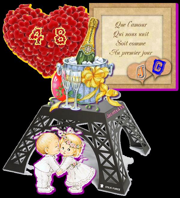 ~(☼♥☼)~ ☼ 22 MARS ☼ ♫ 48 ANS ♫ ☼ ♫ Notre ANNIVERSAIRE de MARIAGE ☼ ~(☼♥☼)~