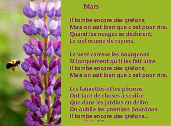 ~♥~ ♫ ☼ 31 MARS ☼ ♫ AU REVOIR MARS ♫ ☼ 01 AVRIL ☼ ♫ BONJOUR AVRIL ☼ ♫ ~♥~