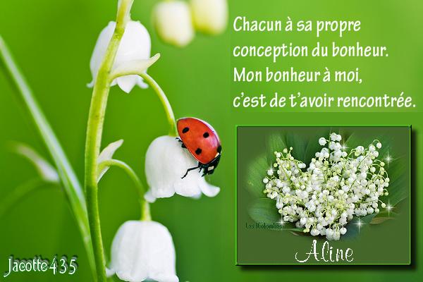 (☼♥☼) ♥♫♥ 29 AVRIL ♥♫♥ (☼♥☼) BON 1er MAI ♥♫♥ MON AMIE ♥♫♥ ALINE ♥♫♥  (☼♥☼)  (☼♥☼) ♥♫♥ http://au-fil-des-jours-91.skyrock.com/ ♥♫♥ (☼♥☼)
