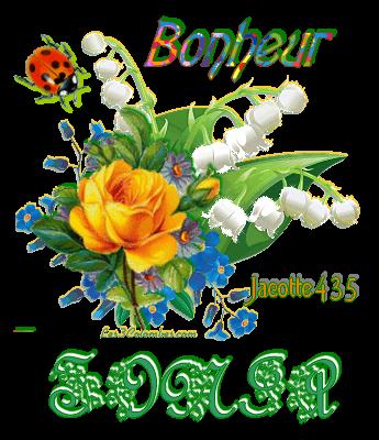 (☼♥☼) ♥♫♥ CUEILLETTE ♥♫♥ DE MUGUET CHEZ VOUS ♥♫♥ MERCI ♥♫♥ A TOUTES ♥♫♥  ♥♫♥ VOUS VOUS RECONNAÎTREZ ♥♫♥ (☼♥☼)