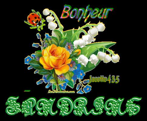 (☼♥☼) ♫ ☼ ♫ BON 1er MAI ~♥♫♥~ MUGUET ~♥♫♥~ PORTE-BONHEUR ~♥♫♥~ MERCI A CATHY ♫ ☼ ♫ (☼♥☼) ~♥♫♥~ http://kathania.centerblog.net/ ~♥♫♥~ et quelques OUBLIS ~♥♫♥~ MURIEL ~♥♫♥~ SANDRINE ~♥♫♥~ A SUIVRE