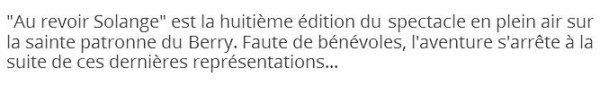 ~♥**♥~ 10 MAI ~♥**♥~ BONNE FÊTE ~♥**♥~ SOLANGE ~♥**♥~ PATRONNE DU BERRY ~♥**♥~