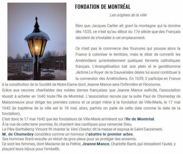 ~♥~ FESTIVITÉS AU QUÉBEC ~♥~ 375ème ANNIVERSAIRE ~♥~ FONDATION DE MONTRÉAL ~♥~ 22 MAI ~♥~ FÊTE DES PATRIOTES ~♥~
